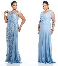 Vestidos de festa plus size da Barbara Design |                                                                                                                                                                                 Mais