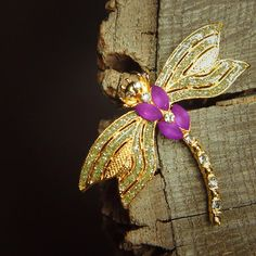 dragon fly Brooch 5325 by Craft365com on Etsy