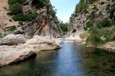 Rutas Mar & Mon: La Fontcalda - via verde de la Terra Alta