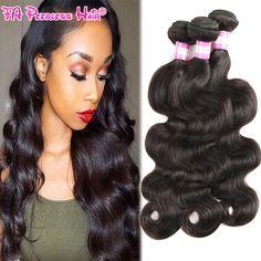 Peruvian Virgin Hair Body Wave 3 Bundles 8A Grade Peruvian Virgin Unprocessed Human Hair Ali Moda Hair Peruvian Bodywave Weave