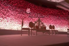 All Floral Wall Decor we Spotted at Weddings Reception Stage Decor, Wedding Stage Design, Wedding Reception Backdrop, Indian Reception, Wedding Backdrops, Wedding Sparklers, Wedding Ideas, Outdoor Wedding Venues, Wedding Inspiration