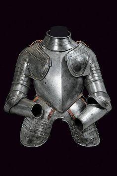 A composite half armour, Italy 16th century.