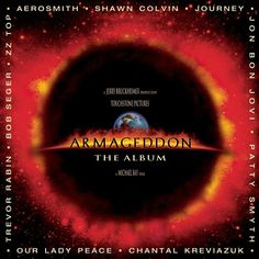 So what if Michael Bay recently apologized for making Armageddon? The soundtrack is still great! Aside from the featured power ballad by Aerosmith (see below), Aerosmith, Zz Top, Top 40, Ukulele Tabs, Ukulele Chords, Bob Seger, Jon Bon Jovi, Bride Entrance Songs, Best Party Songs