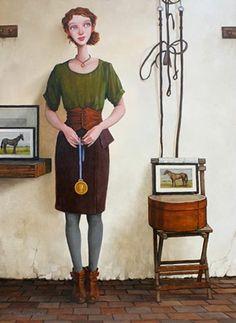 Fred Calleri 1964 | American Figurative painter