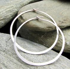 Earrings Everyday: Tutorial for Hoop Earrings