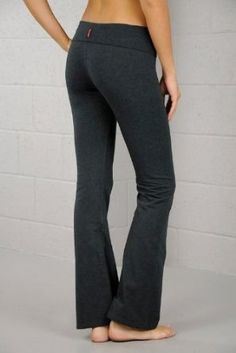 Fold Over Cotton Spandex Lounge Pants $12.99