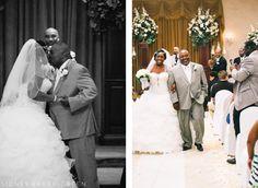 Crystal Gardens Southgate Michigan Wedding: Bianca + Kieth