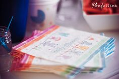 Babyshower -servettejä by Foodassion, via Flickr