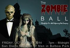 Check out The Zombieball on Halloween 2014! All proceeds go to the theatre.