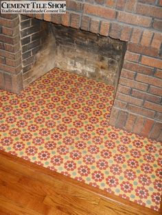 Cement Tile Shop - Handmade Cement Tile | Custom Moorish Pattern. All tiles can be customized in the colors of your choice. Call (800) 704-2701 or visit www.cementtileshop.com