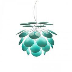 Marset Discoco Turquoise Pendant Light Lamp Unique Ideas Wonderful Decoration Handmade Premium Material Collection