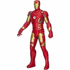 Marvel Avengers Titan Hero Age of Ultron Titan Hero Tech Iron Man New #Avengers