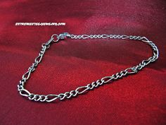 316L Surgical Steel Twisted Figaro Bracelet