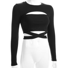 Gothic Grunge Criss Cross Strap Crop Top – ROCK 'N DOLL The clothing culture is fairly old. Teen Fashion Outfits, Stage Outfits, Edgy Outfits, Pretty Outfits, Trendy Fashion, Cool Outfits, Fashionable Outfits, Trendy Style, Fasion