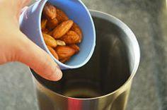 Homemade Almond milk 1/4 the cost!