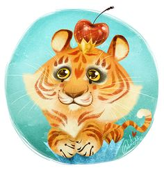 Tigercupcake! by Fairygodflea on deviantART