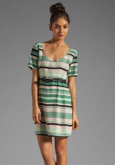Beyond Vintage Striped Shift Dress in Charlie @REVOLVEclothing