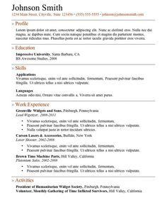 free online resume samples httpgetresumetemplateinfo3609free online resume templates free