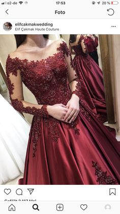 Gown Style Dress, Maroon Color, Ball Gowns, Fashion Dresses, Formal Dresses, Haute Couture, Ballroom Gowns, Fashion Show Dresses, Dresses For Formal