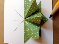 Tea Bag Folding & Perfect Pennants Tea bag folding, or miniature kaleidoscopic origami as it is also know, is a paper craft created in Holland by a woman named Tiny van der Plaas. Legend has it, she was in need of a birthday card for a friend. She sat thinking...