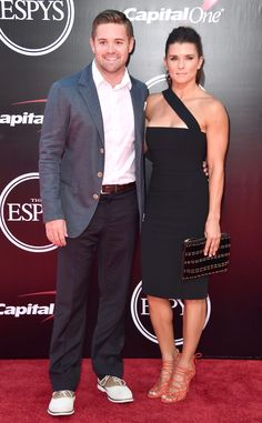 Danica Patrick & Ricky Stenhouse Jr. from 2016 ESPYs Red Carpet Couples  The NASCAR couple look great on and off the track!