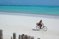 Zanzibar. People on the sand