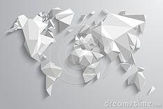 Triangle World by Horvath Zoltan, via Dreamstime
