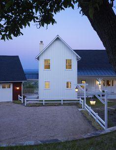 Ridgeside Vineyard Farmhouse - traditional - exterior - other metro - Barnes Vanze Architects, Inc