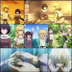 The story of Zeno and his wife Kaya =( I cry every time....