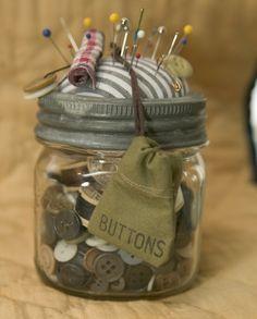 Botton & pin jar