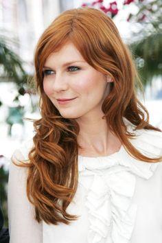 Kirsten Dunst red hair inspo