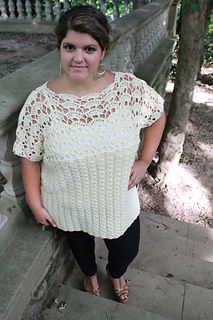 Ravelry: Plus Size Coraline Top pattern by Abigail Haze