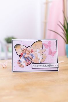 Create unique and personalized keepsake cards and gifts using our fabulous Shaped Jigsaw Dies. Perfect for transforming photos and artwork into jigsaw puzzles. You Give Me Butterflies, Crafters Companion Cards, Jigsaw Puzzles, Give It To Me, June, Butterfly, Craft Ideas, Shapes, Create