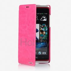Ultra-Thin KLD England Series Flip Leather Case for HTC Desire 600 dual sim 606w