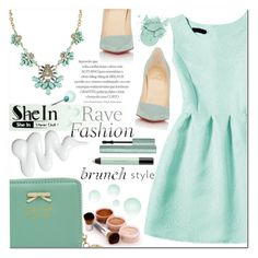 """""""Shein4"""" by angel-a-m ❤ liked on Polyvore featuring Christian Louboutin, shu uemura and shein"""