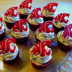 WSU Cougar Cupcakes