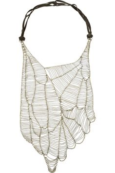 // Antik Batik necklace.- not sure I have any occasion to wear this but I adore the design & whole idea!