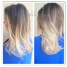 Ombre by Linzy! #thebestlittlehairhouse #hair