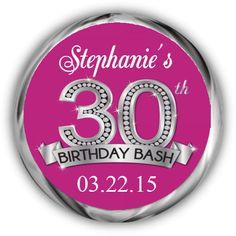 50th Anniversary Stickers Personalized by AnnounceItFavors, $10.00 ...
