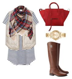 """""""Happy Thanksgiving!!!"""" by preppy-lilly-girl on Polyvore featuring J.Crew, Tory Burch, CÉLINE and Michael Kors"""