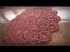 Crochet Patterns Filet, Crochet Diagram, Crochet Designs, Crochet Stitches, Crochet Mandala, Crochet Doilies, Doily Rug, Rag Rug Tutorial, Knit Rug
