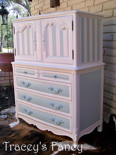 "Vintage French Provincial Bedroom Set ""Pat"" - MADE TO ORDER. $2,475.00, via Etsy."