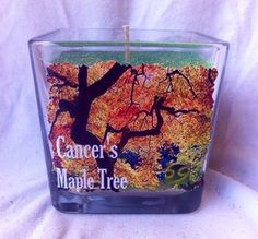 Cancer Ruled Maple Tree Astrology Candle by IstarAndFlameCandles