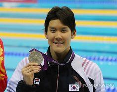 박태환, 실격 파문 이겨낸 값진 은메달.   #london2012 #olympics #swimming
