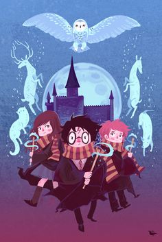 Brave Wizarding a Harry Potter Homage poster by theGorgonist on Etsy https://www.etsy.com/listing/128116752/brave-wizarding-a-harry-potter-homage