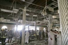 Several killed after suicide bomber strikes Saudi mosque Islam, Imam Ali, Mosque, At Least, Daily Journal, City, Muslim, Mosques