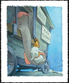mothers are all the same. even fictional. even pachyderm.