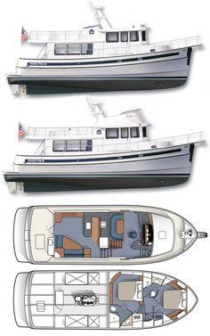 Wooden Boat Building, Boat Building Plans, Boat Plans, Trawler Yacht, Trawler Boats, Yacht Design, Boat Design, Tug Boats, Motor Boats