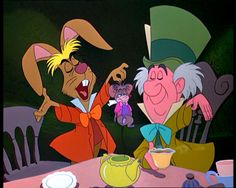*THE MARCH HARE, THE DOR MOUSE & THE MAD HATTER ~ Alice in Wonderland, 1951