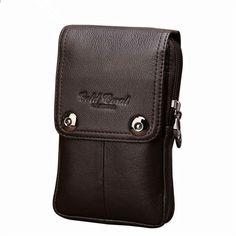 5addbb4e8390b YIANG marka moda mężczyzna pas biodrowy torba skórzana torba na co dzień  mini męska torebka Torebka